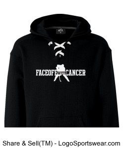 Sport Lace Hooded Sweatshirt by J. America Design Zoom